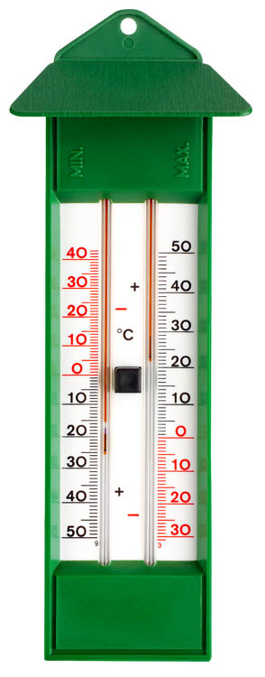 garden thermometer min max thermometer green tfa outdoor thermometer ebay. Black Bedroom Furniture Sets. Home Design Ideas