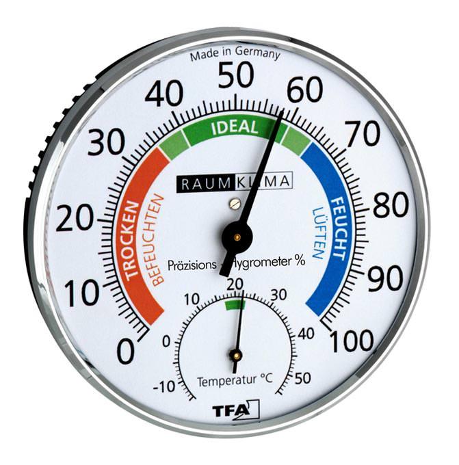 Hygrometer Klimatest