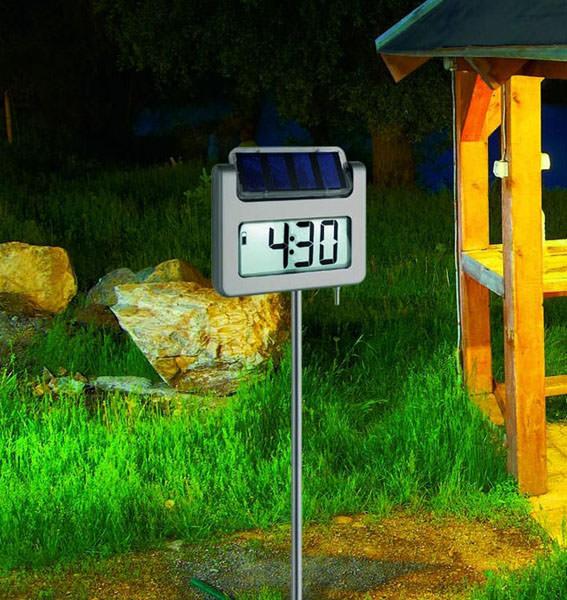 Thermom tre de jardin avenue tfa cran lcd - Grand thermometre de jardin ...