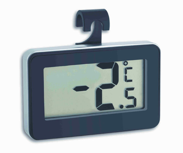 Kühlschrank Thermometer Digital : Digital thermometer tfa kÜhlschrankthermometer
