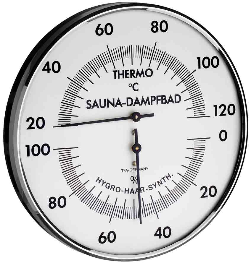 TFA 40.1011//16 cm Sauna Thermometer