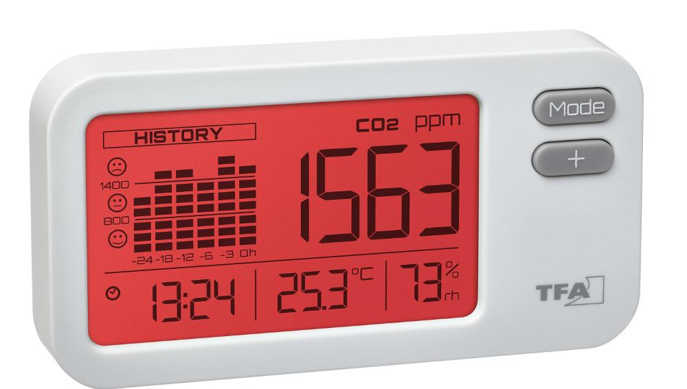 Monitor CO2 TFA Dostmann 31.5009.02 AIRCO2NTROL COACH
