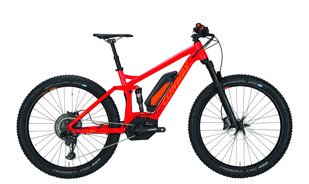 conway e mountainbike fully emf 527 plus elektro bike 500. Black Bedroom Furniture Sets. Home Design Ideas