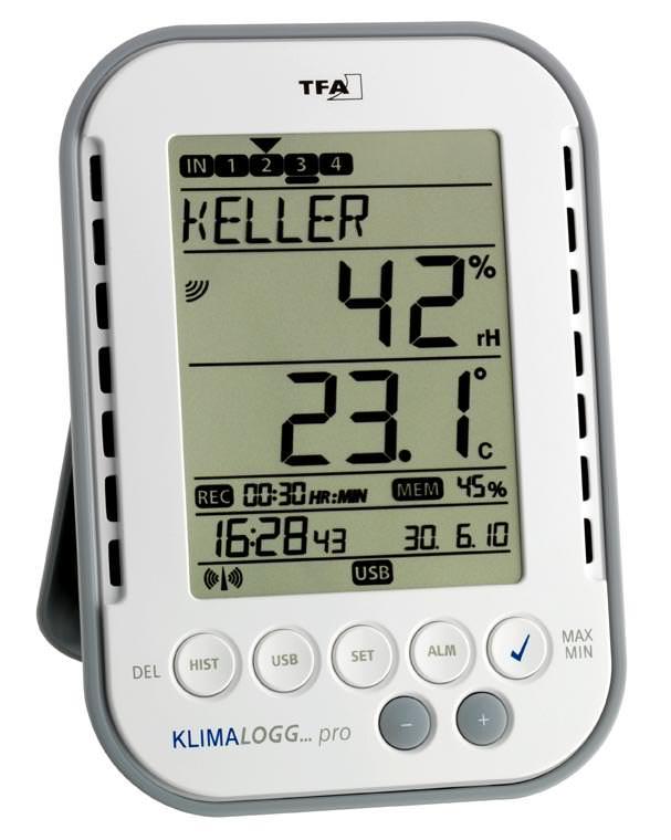 KLIMALOGG pro tfa 30.3039 Câble Capteur 30.3181 serre temp-surveillance