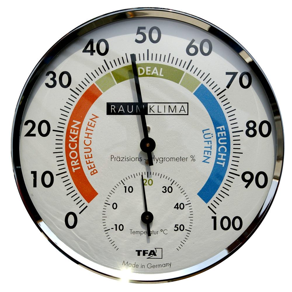 Hygrom tre de pr cision extragross tfa - Thermometre interieur precis ...